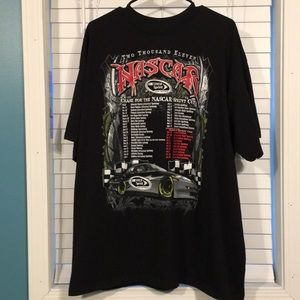 NASCAR 2011 Sprint Cup Series T-shirt Size 3XL